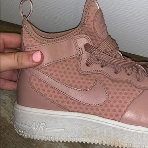 Nike Shoes - Nike womens Air Force 1's mid ultraforce